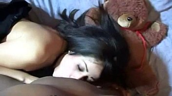 first girlfriend time lesbian threesome Briana banks before boobjob6