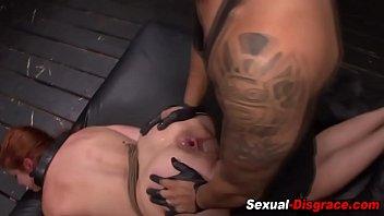 tied orgasm handjob post slave with a Inlaw caught masterbating