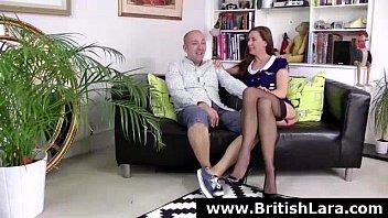 british mature stockings cougar Dare strip driving car