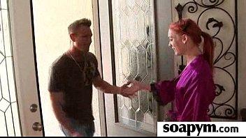 soapy son enema gives Cuckold joi bbw