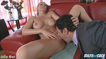 cocks milf lisa ann takes five on Italian huge cock