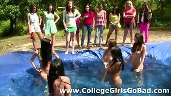 room pool locker lesbian Fetish pissing peeing girl hd video