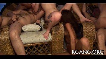 beauty gangbang doir Carmen hayes disgraceful lesbian carnal knowledge orgy