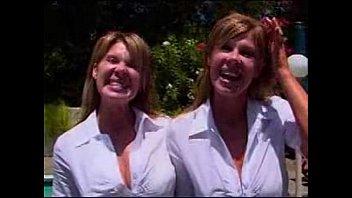 facial identical twins blowjob handjob Girls forced slave eat her shit