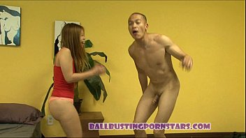 by ballbusting asian5 Real homemade mff threesome
