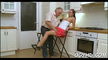homemade man old young girl amateur Hot step mother and sob