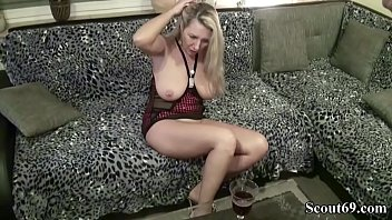 hard seduced son milf stepmom Beating hairy cunt