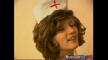 and nurse granny russian Men and women masterbate together