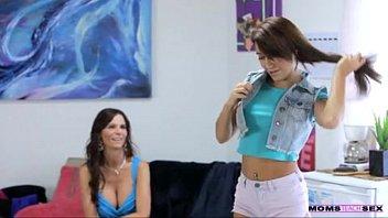 daughter teaches mom boyfriend Mia li and cassidy klein