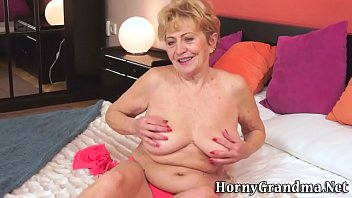 old being in exposed grannies public Pantyhose dry humping her man
