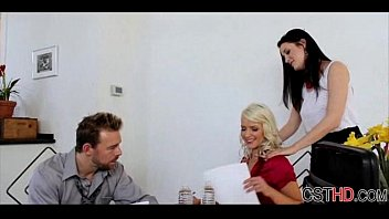 teen by gets couple seduced Wife does humiliated workj