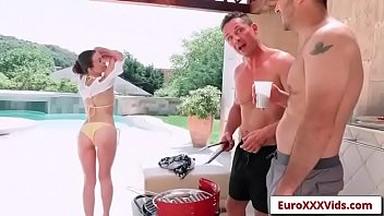euro parties sex love with 6 Seduced by my girlfriends stepmom then girlfriend join in6