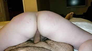 cook on riding Blonde step sister catches brother