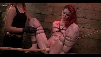 dominates bondage lesbian redhead submissive Caught fucking my husband wife