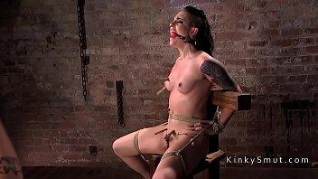 indo parody sub xxx Tied handjob torture
