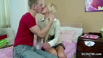 anal first lisbian mom time Doggystile fucked by machine