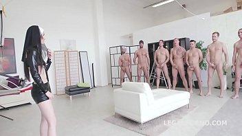 oksana anal double loves Luscious lizzy gang bang aquad