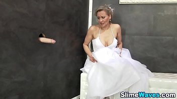 bride fucked wedding black night getting on dirty Lady pussy molested in train