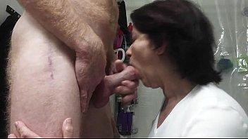 horny hard cock pussy sucks Mild catchs guy jerkin
