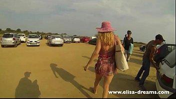 flash public beach Facesitting college bangbros