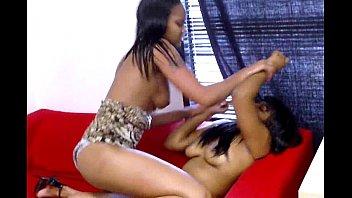 a by crowd stripped ebony Fair skin pussy part 3
