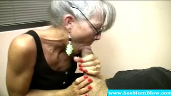 mother mom russian son mature He loves to eat my pussy