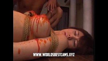 rubs herself panties adorable under teen her japanese cute Kortney kane horny porn video in the bathroom