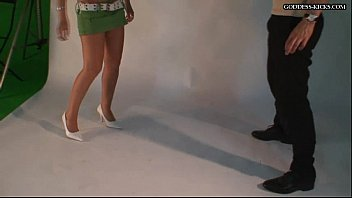 ballbusting by asian5 Grope his pants