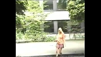 flashing no the panties in street Japanese massage harassed