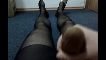 pantyhose showers nylon in joy tera latina Efa awek nering