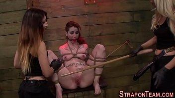 orgasm a handjob post tied slave with Immaculatepleasure tumblr com interracial bareback