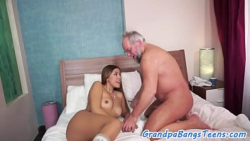 lucky old in man pussy cum Two russian coeds play with strong man7