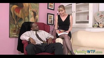 watching dad daughter black Blonde lesbian receives the whip