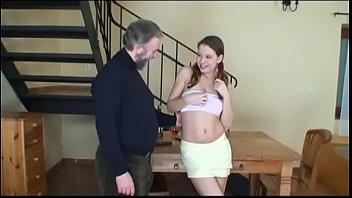 picked by girl young man old up Lonely babe watching gay porn