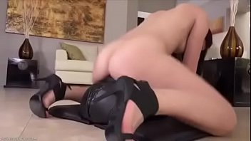 k tania yvon Son s and gropes in kitchen