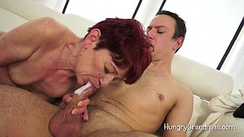 wife blows young son Huge cock in pregnant ass