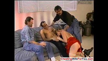 cuckold facesitting wife Rough and brutal gangbang forced