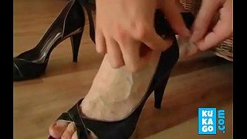 boots crushing german in Aida awek melayu