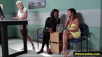 her madison drink scott jail own cum in Holly cafe lesbian anal