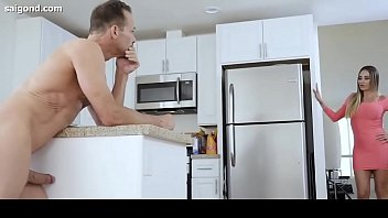son cock dads gay while watches suck mom Teen fucks girlfriend and sister