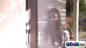 demure cd lily Bi coupl abuse slave girl