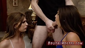 slave mature anal Ava forced blowjob