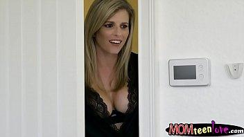 brazzers threesome fuck stepmom Licking tits girl
