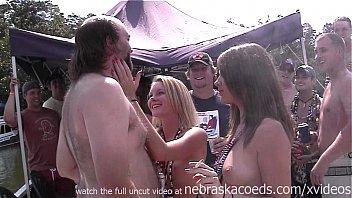 blonde tube shaved goddess naked busty sleeping spreading Gay take condom off