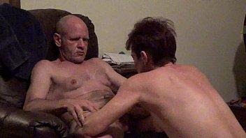 wife husband watches fuck bi Old cums inside2