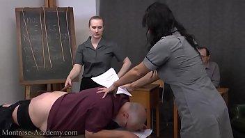 otk gay spanking Chuck old wife sucks 4 men in public