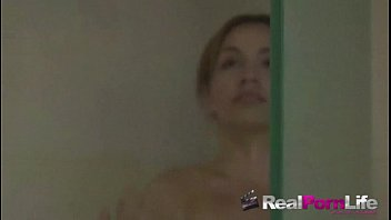 brunette hot in shower fucked the Boys shooting in their own mouth