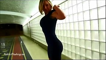 bbw public flashing Skinny crossdresser bbc