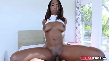 mouth trans force cum Oiled up latina6