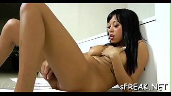 is fake twat schlong pounding angel hard her with Boys thigh fuck